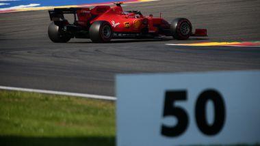 F1 GP Belgio 2019, Spa: Leclerc (Ferrari) durante le qualifiche