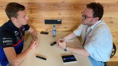 F1 GP Belgio 2019, Spa: MotorBox intervista Daniil Kvyat nell'hospitality Red Bull-Toro Rosso - 1