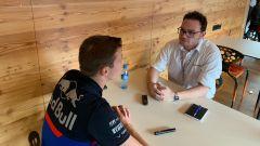 F1 GP Belgio 2019, Spa: MotorBox intervista Daniil Kvyat nell'hospitality Red Bull-Toro Rosso - 2