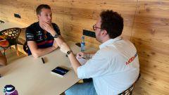 F1 GP Belgio 2019, Spa: MotorBox intervista Daniil Kvyat nell'hospitality Red Bull-Toro Rosso - 4