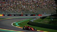 F1 GP Belgio 2019, Spa: Sebastian Vettel (Ferrari) durante le prove libere 2
