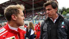 Il mercato di Toto Wolff: Mercedes non esclude Vettel