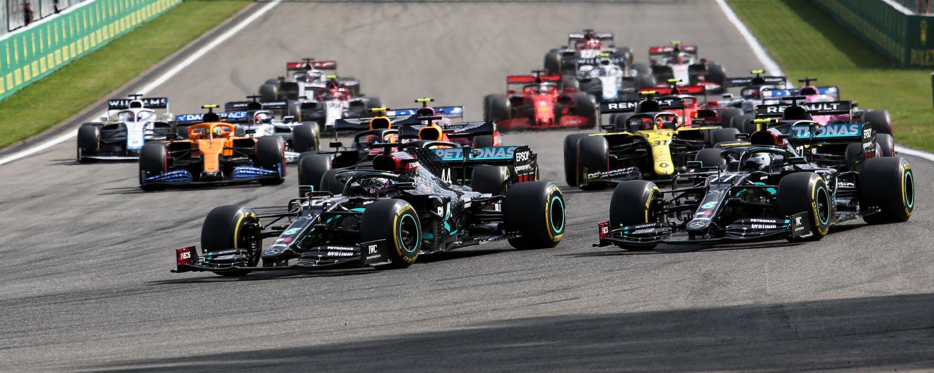 F1, GP Belgio 2020: la partenza