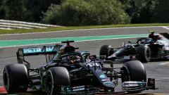 F1, GP Belgio 2020: le Mercedes di Lewis Hamilton e Valtteri Bottas