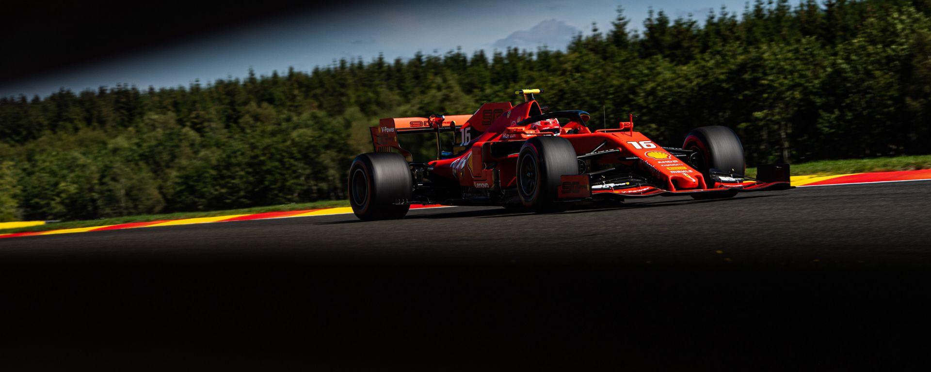 F1 GP Belgio 2020, Spa:  Charles Leclerc (Scuderia Ferrari)