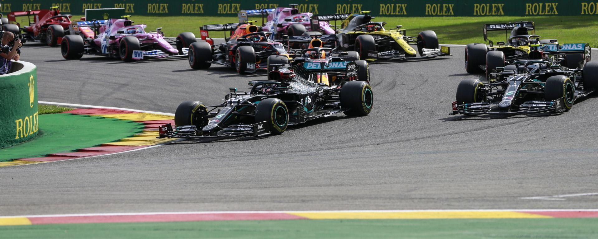 F1 GP Belgio 2020, Spa: la partenza della gara