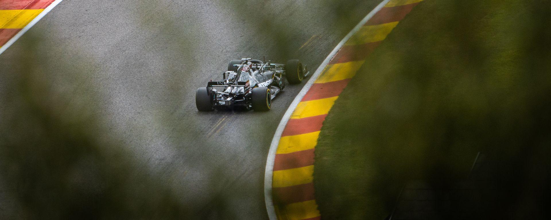F1 GP Belgio 2020, Spa: Lewis Hamilton (Mercedes AMG F1)