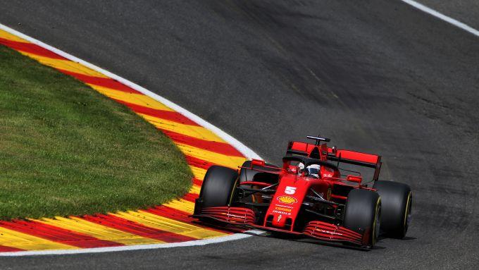 F1 GP Belgio 2020, Spa: Sebastian Vettel (Scuderia Ferrari)