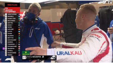 F1, GP Belgio 2021: MazeSpin mostra con orgoglio il pallino fucsiah