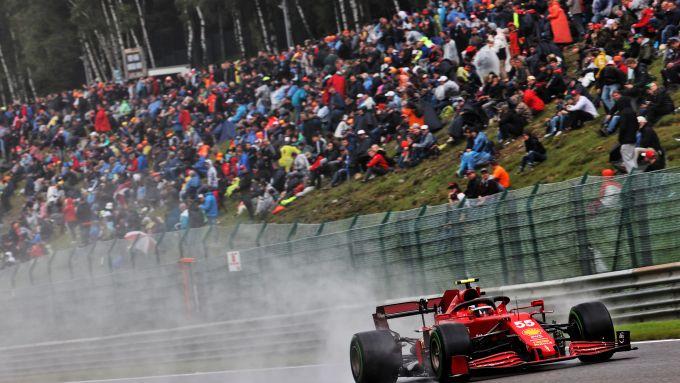 F1 GP Belgio 2021, Spa: Carlos Sainz Jr. (Scuderia Ferrari)
