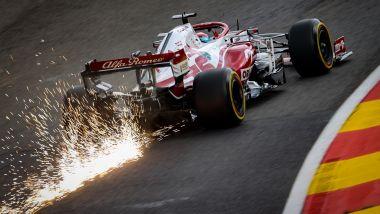 F1 GP Belgio 2021, Spa: Kimi Raikkonen (Alfa Romeo Racing)