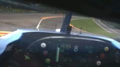 Altro che Playstation: un giro con Alonso a Spa - Video