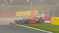 F1 GP Belgio 2021, PL2: Verstappen 1° ma finisce a muro