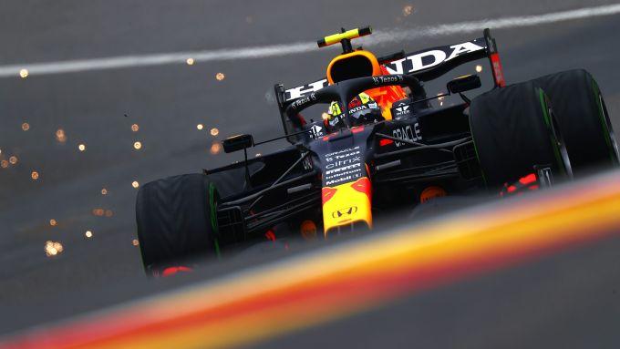 F1 GP Belgio 2021, Spa: Sergio Perez (Red Bull Racing)