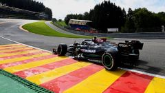 F1 GP Belgio 2021, PL1: Bottas davanti, Hamilton 18°