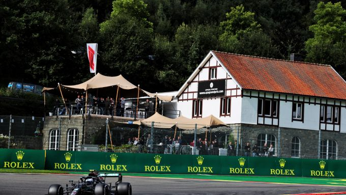 F1, GP Belgio 2021: Valtteri Bottas (Mercedes)