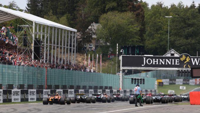F1 GP Belgio, Spa-Francorchamps: la griglia di partenza nell'edizione 2018