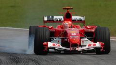 F1 GP Brasile 2004, Interlagos: Michael Schumacher (Scuderia Ferrari)