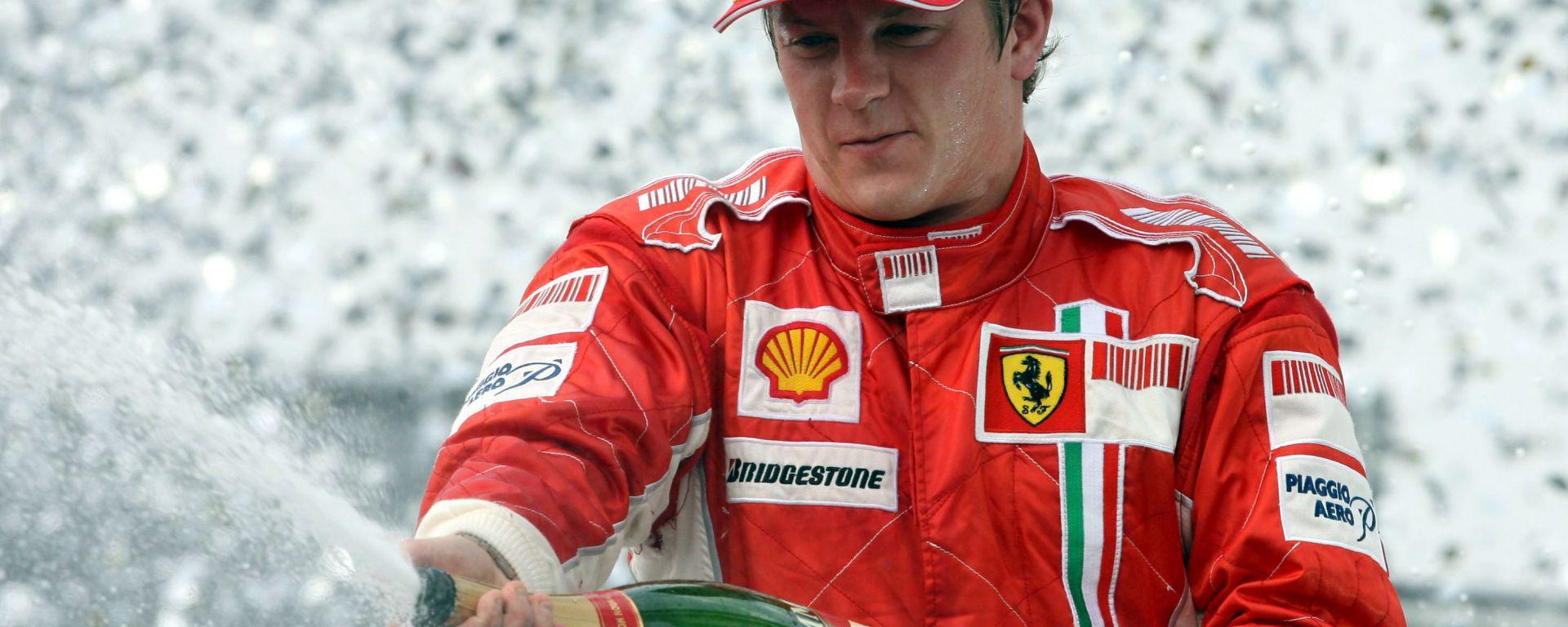F1, GP Brasile 2007: Kimi Raikkonen (Ferrari)