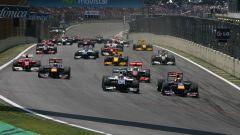F1 GP Brasile 2010, Interlagos: la partenza della gara