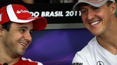 "Massa: ""So come sta Schumacher"""