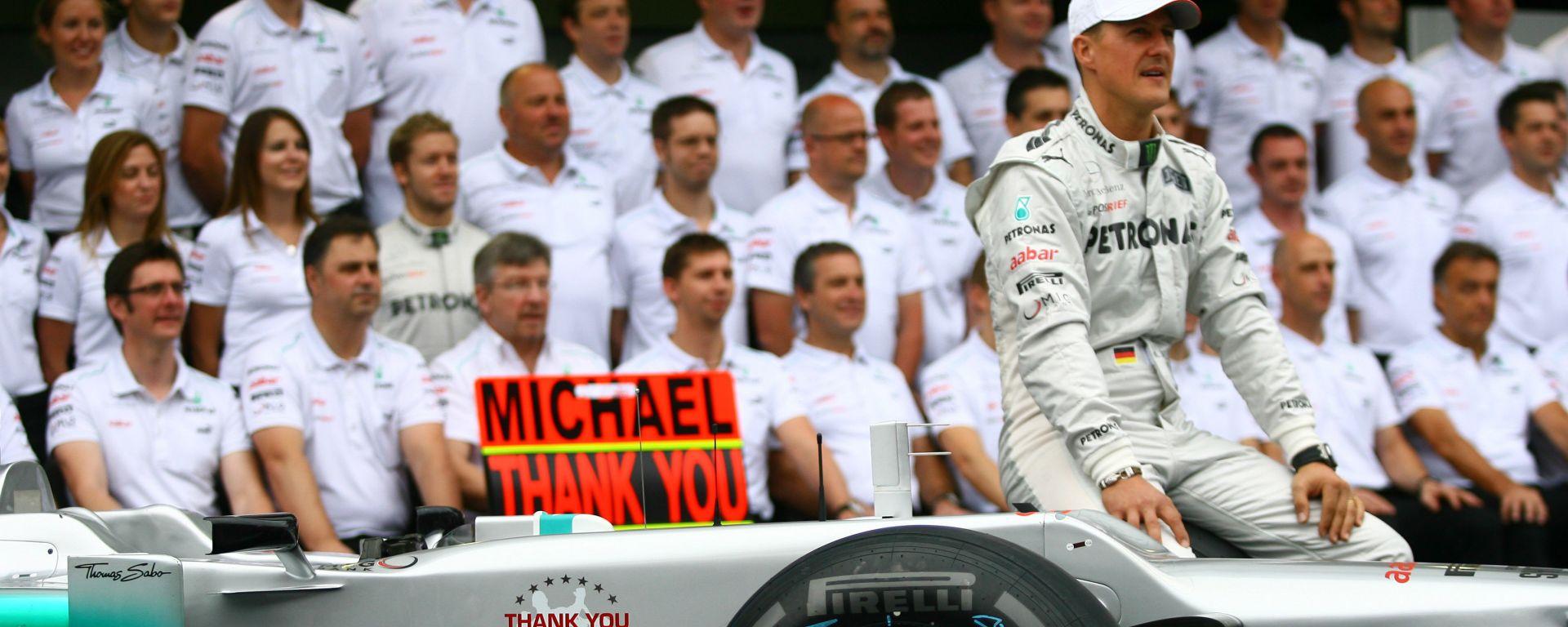 F1 GP Brasile 2012, Interlagos: Micheal Schumacher (Mercedes)