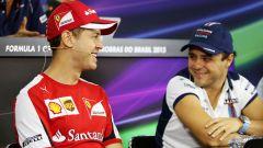 "Massa assolve Vettel: ""Mai avuta una Ferrari da titolo"""