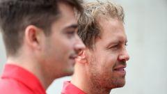 F1, GP Brasile 2019: Charles Leclerc e Sebastian Vettel (Ferrari)