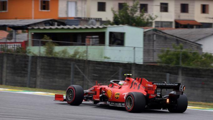 F1, GP Brasile 2019: Charles Leclerc (Ferrari)