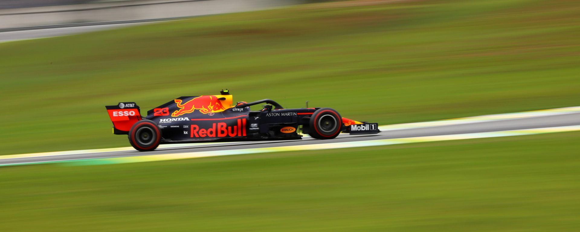 F1 GP Brasile 2019, Interlagos: Alexander Albon (Red Bull)