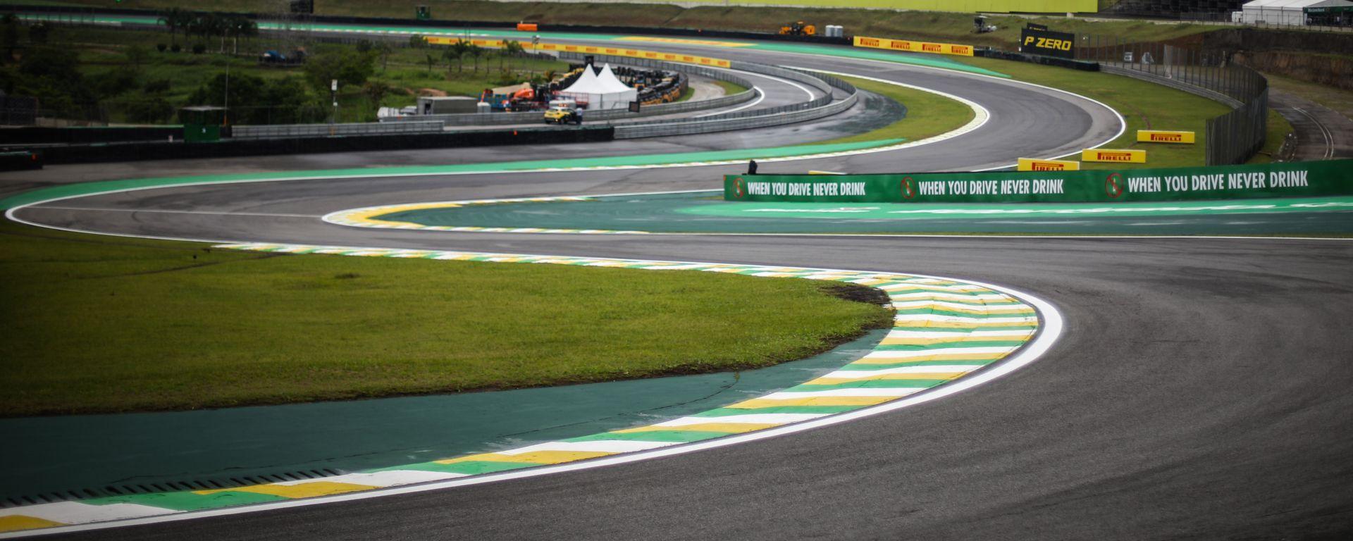 F1 GP Brasile 2019, Interlagos: atmosfera del circuito di San Paolo