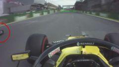 F1 GP Brasile 2019, Interlagos: Hulkenberg (Renault) sorpassa Magnussen (Haas) in regime di Safety Car