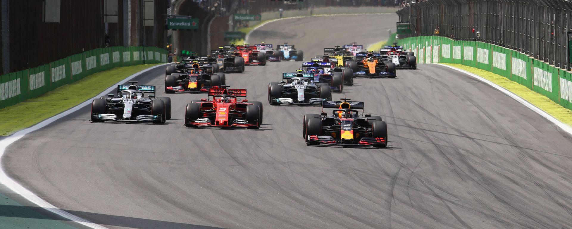 F1 GP Brasile 2019, Interlagos: la partenza della gara