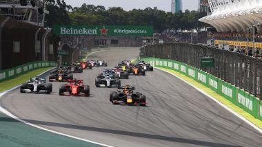 F1 GP Brasile 2019, Interlagos: la partenza