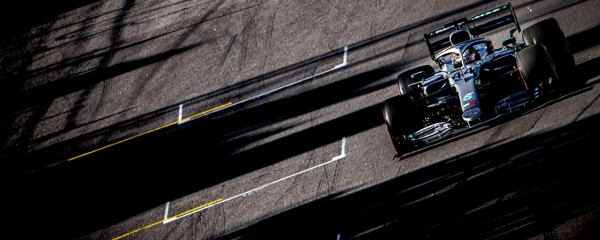 F1 GP Brasile 2019, Interlagos: Lewis Hamilton (Mercedes)