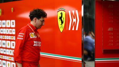 F1 GP Brasile 2019, Interlagos: Mattia Binotto, team principal della Ferrari