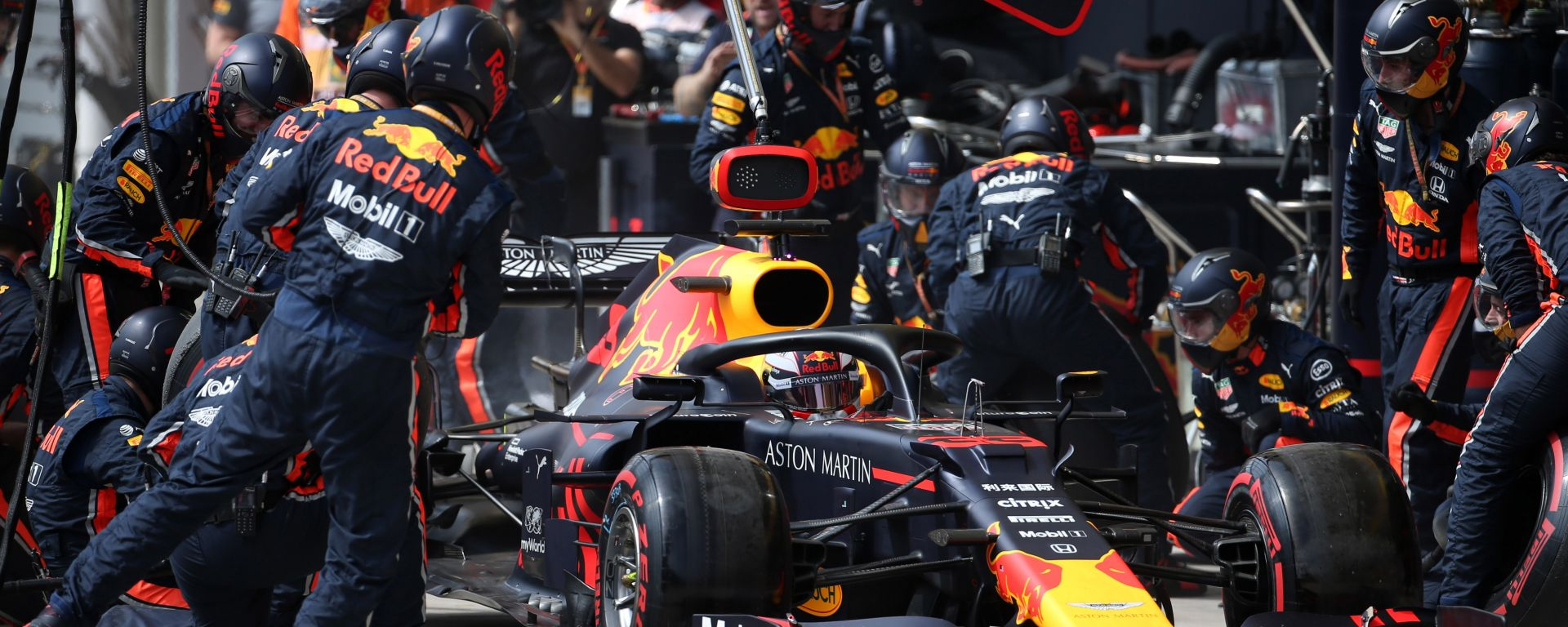 F1 GP Brasile 2019, Interlagos. Max Verstappen (Red Bull)