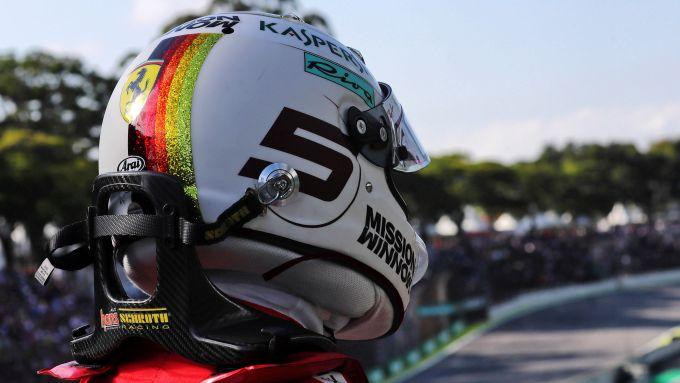 F1 GP Brasile 2019, Interlagos: Sebastian Vettel (Ferrari)