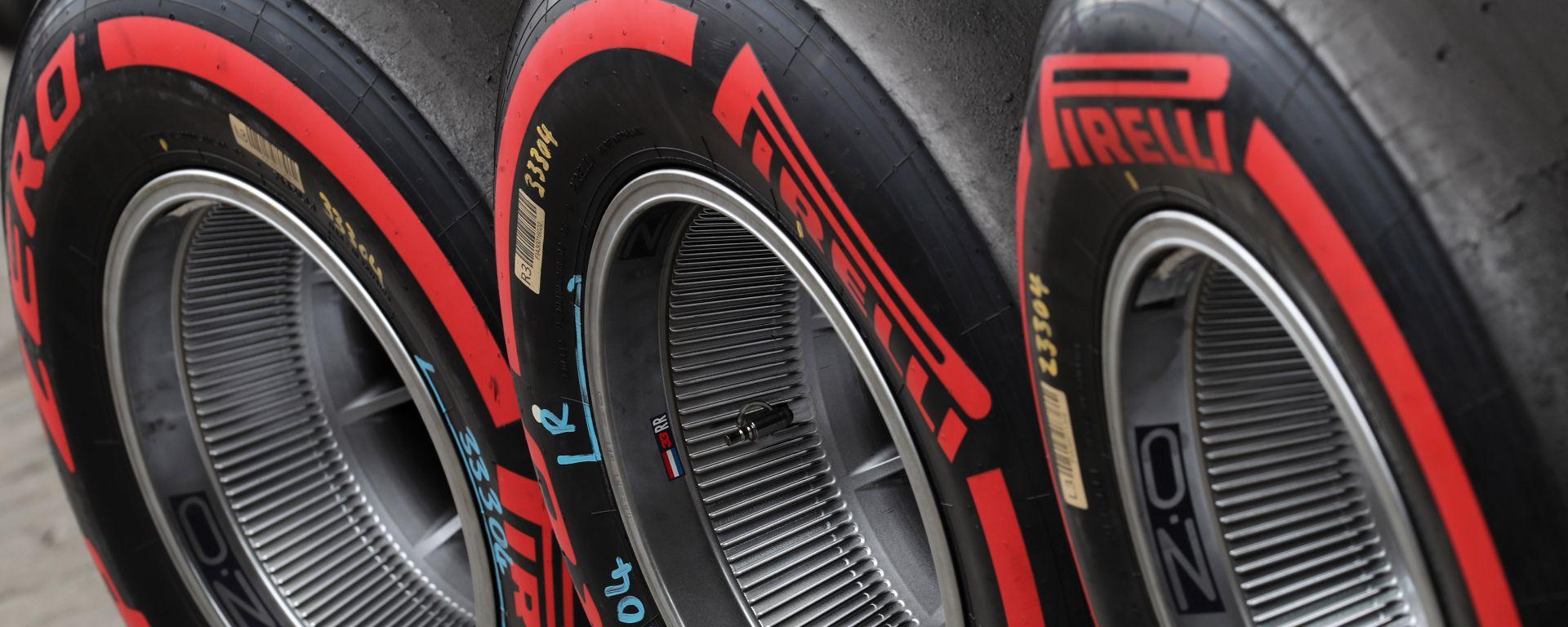 F1 GP Brasile 2019, Interlagos: Un set di Pirelli Soft