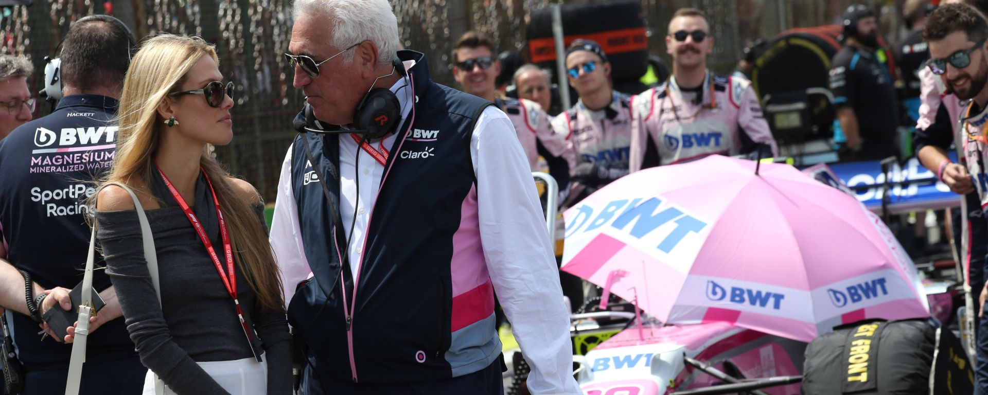 F1, GP Brasile 2019: Lawrence Stroll, proprietario della Racing Point
