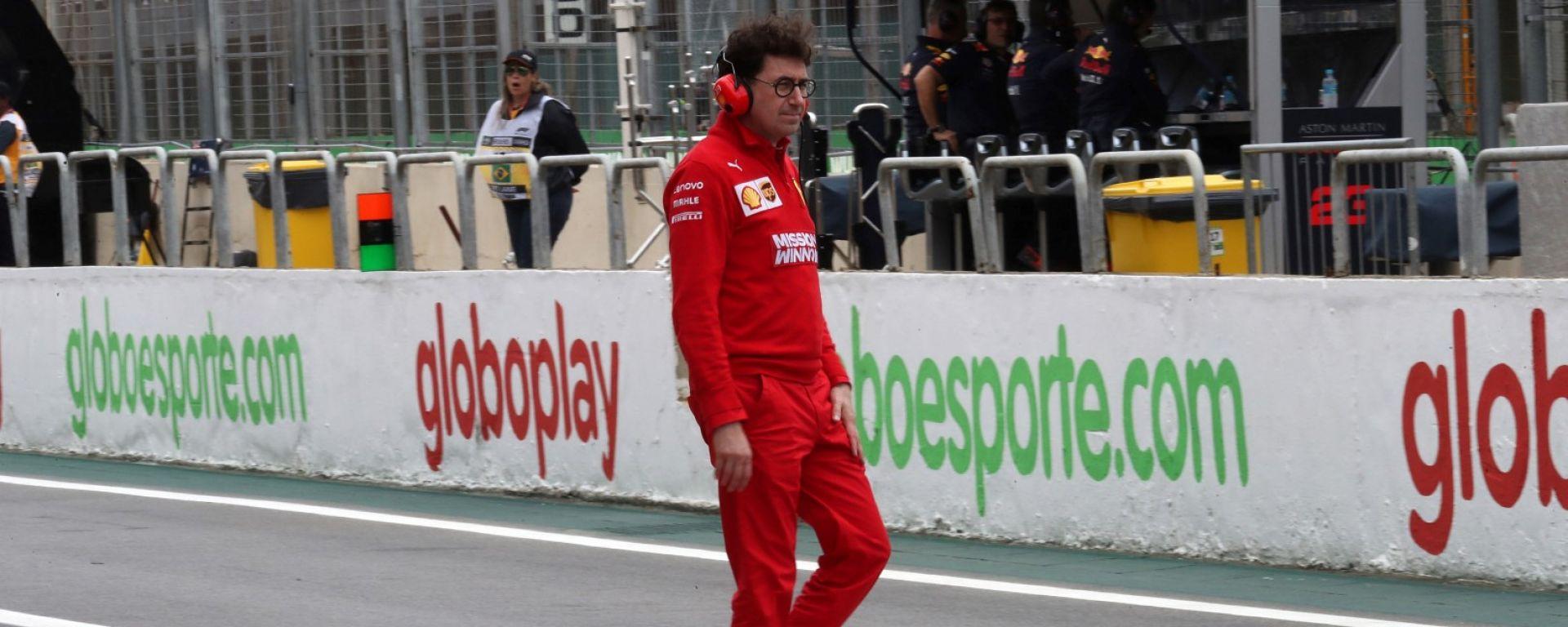F1, GP Brasile 2019: Mattia Binotto (Ferrari)