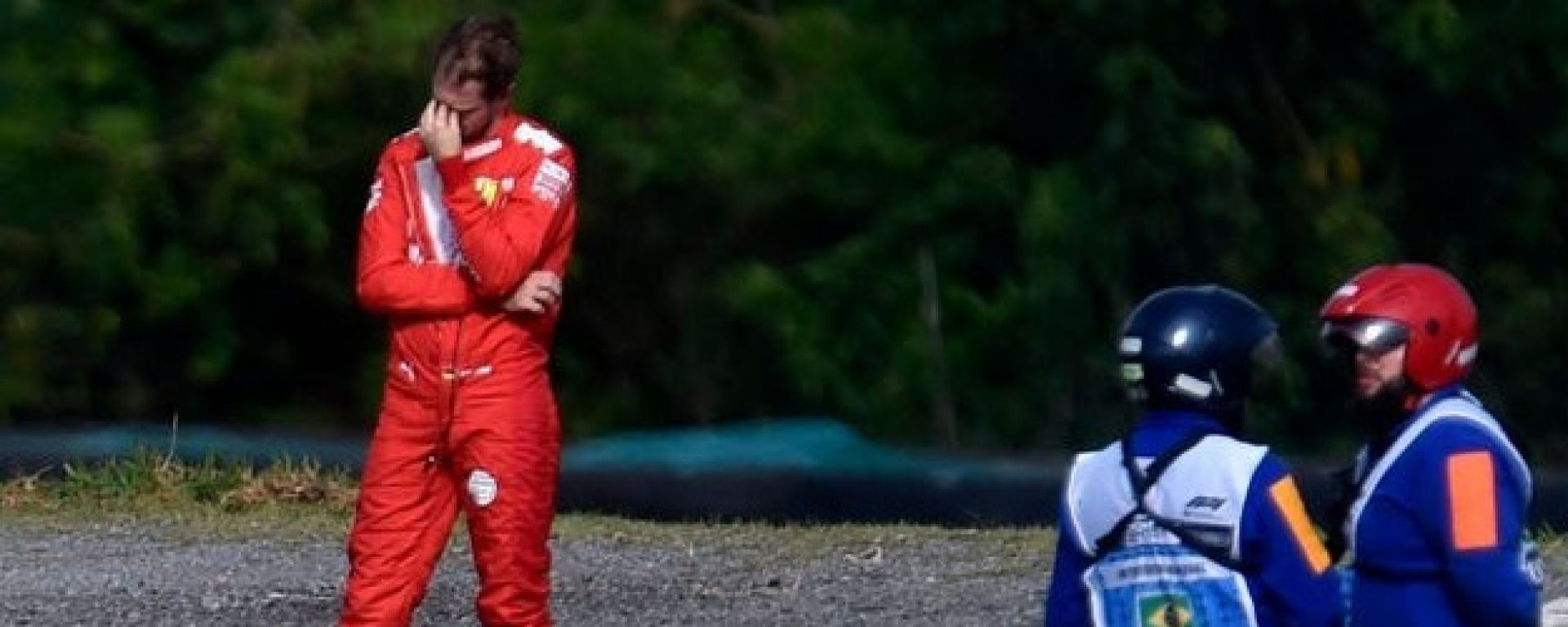 F1, GP Brasile 2019: un disperato papa Sebastiano