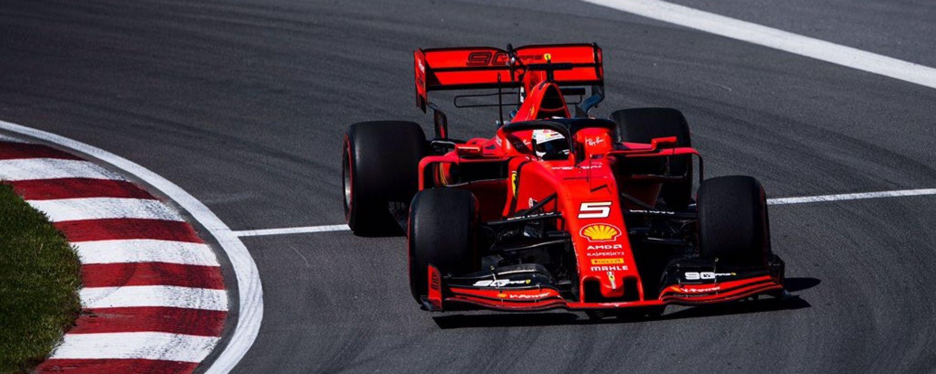 F1 Gp Canada 2019 – PL3: Vettel e Leclerc fanno sperare la Ferrari
