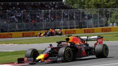 F1 GP Canada 2019, Montreal: Max Verstappen e Pierre Gasly (Red Bull)