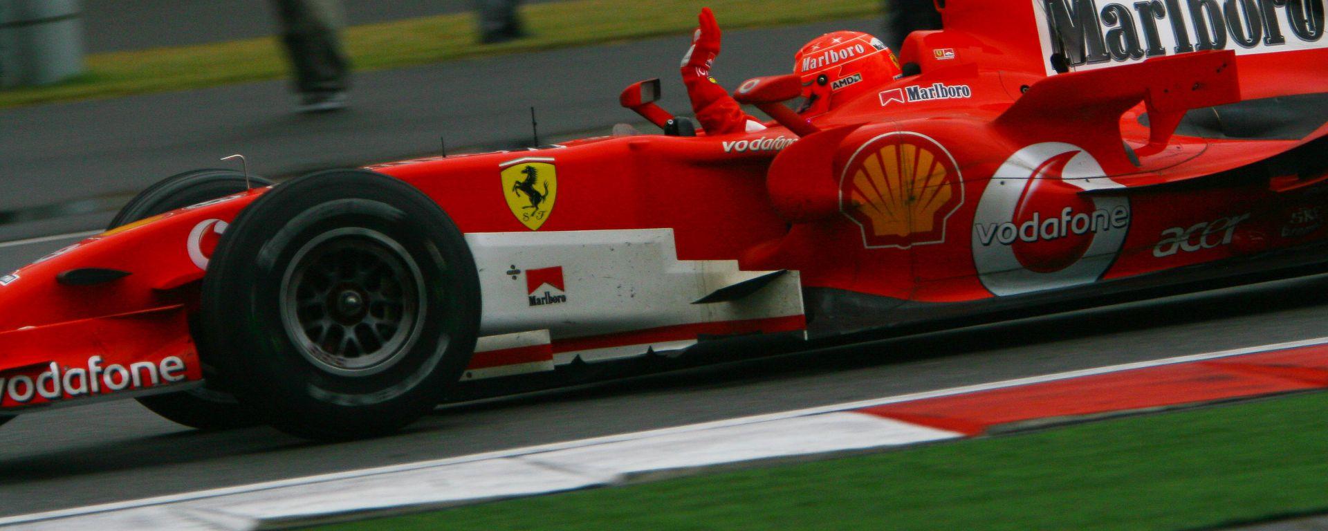 F1 GP Cina 2006, Shanghai: l'ultima vittoria in Ferrari (e della carriera) di Michael Schumacher