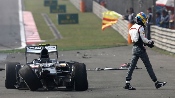 F1 GP Cina 2013, Shanghai: Esteban Gutierrez (Sauber)
