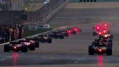 F1 GP Cina 2017, la partenza
