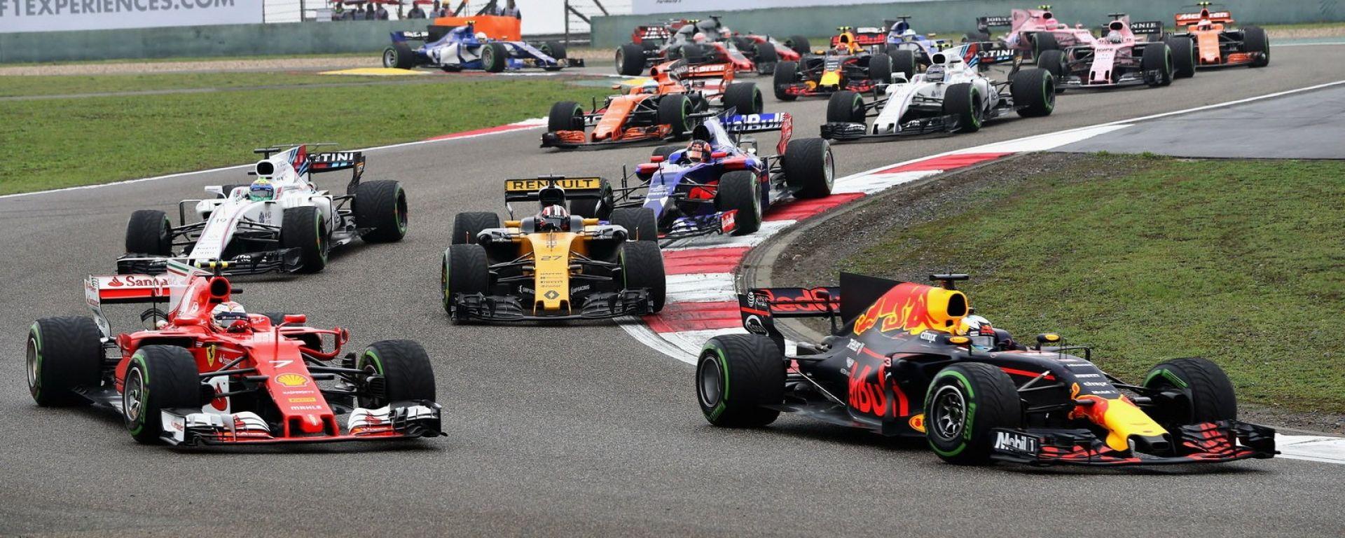 F1 GP Cina 2018