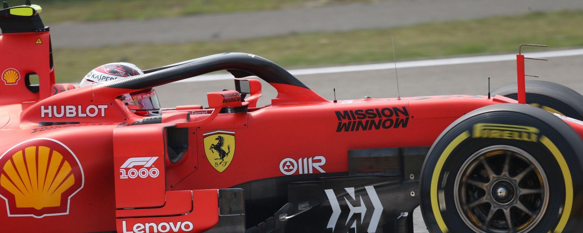 F1 GP Cina 2019, Ferrari: bene Vettel, Leclerc ancora problemi
