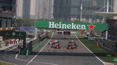 F1 GP Cina, la partenza dell'edizione 2018